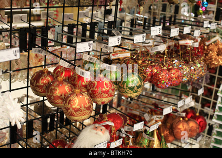 Christmas ornament and decoration store in Solvang, California, USA Stock Photo, Royalty Free ...