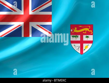 The Fiji flag Stock Photo Royalty Free Image 62370657  Alamy