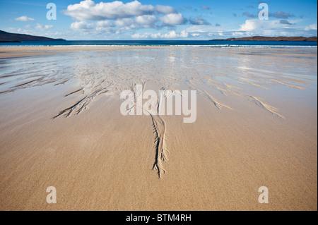 Scenic Traigh Lar Beach, near Horgabost, Isle of Harris, Outer Hebrides, Scotland - Stock Photo