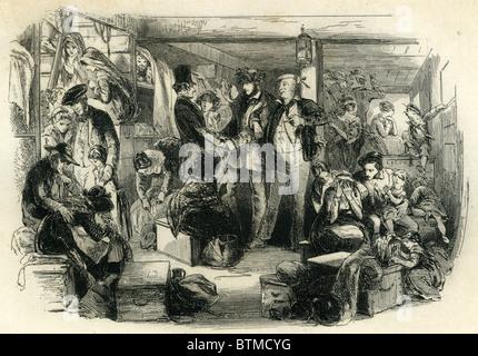 David Copperfield, The Emigrants - Stock Photo