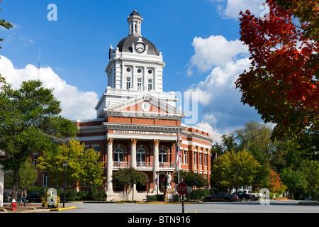 Morgan County Courthouse, Main Square, Madison, Georgia, USA - Stock Photo