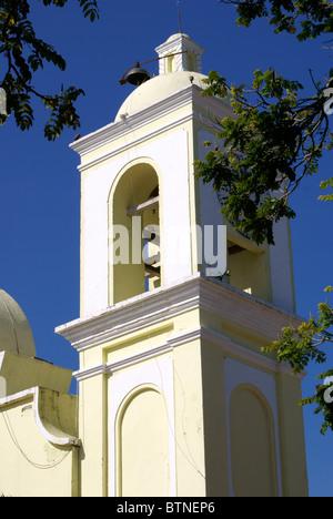 Iglesia de San Marcos church the Spanish colonial town of Gracias, Lempira, Honduras - Stock Photo