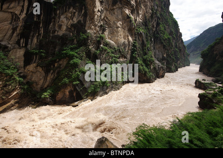 Tiger Leaping Gorge, China - Stock Photo