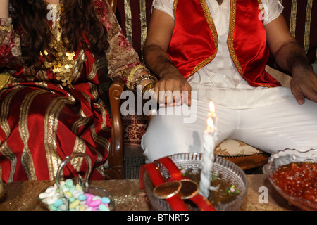 Israel The Hina, also Henna ceremony proceeds the wedding day. - Stock Photo