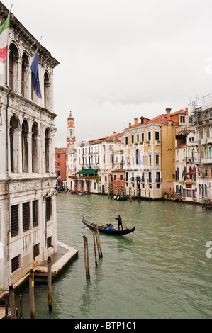 Grand canal, view from Academia bridge - Stock Photo