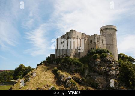 France, Normandy, Falaise, William the Conqueror's Castle - Stock Photo