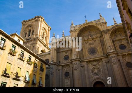 Granada Cathedral, Granada, Andulucia, Spain - Stock Photo