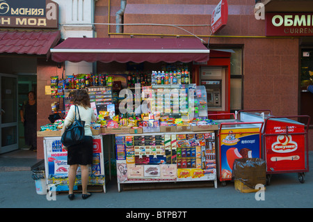 Skewer at outdoor kiosk Stock Photo: 169777111 - Alamy