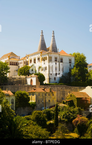 National Palace, Sintra, Portugal - Stock Photo