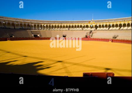 Plaza de Toros, Bull fighting ring, Seville, Andalucia, Spain - Stock Photo