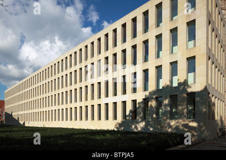 Dioezesanbibliothek in Muenster, Westfalen, Nordrhein-Westfalen - Stock Photo