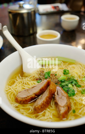 Australia, Australasia, Perth, Vietnamese noodles in multicultural Northbridge - Stock Photo
