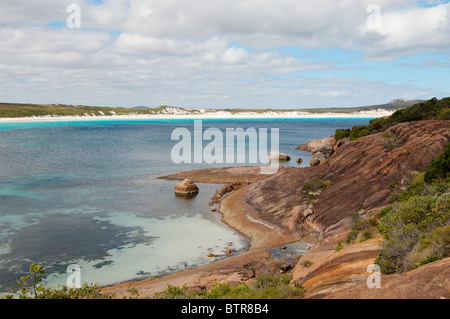 Australia, Esperance, Cape Le Grand National Park, View of sea and coastline - Stock Photo