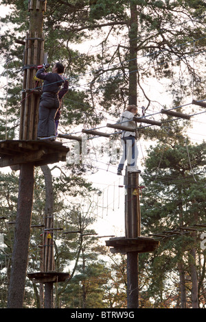 Go Ape High Wire Forest Adventure Course Swinley Forest