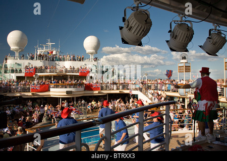 Cruise Ship Party Stock Photo Royalty Free Image Alamy - Cruise ship party