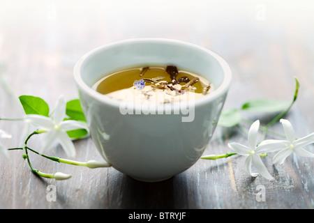 jasmin tea - Stock Photo