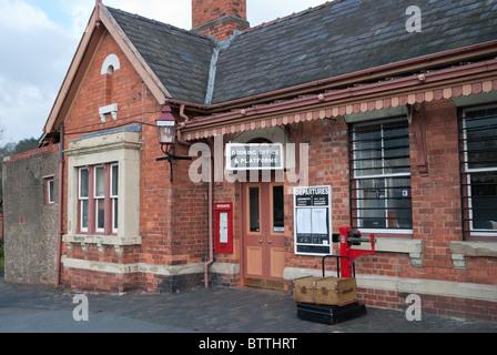 Entrance to Bewdley Station - Stock Photo
