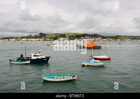 Appledore RNLI lifeboat Tamar Class 'Mollie Hunt' at Appledore, North Devon, England - Stock Photo