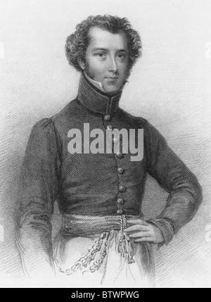ALEXANDER GORDON LAING (1793-1826) Scottish explorer and first European to reach Timbuktu - Stock Photo