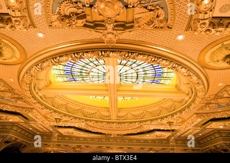 Springfield, Illinois - inside of State Capitol - Stock Photo