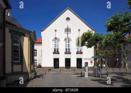 Kartause und Rathaus in Xanten, Niederrhein, Nordrhein-Westfalen - Stock Photo