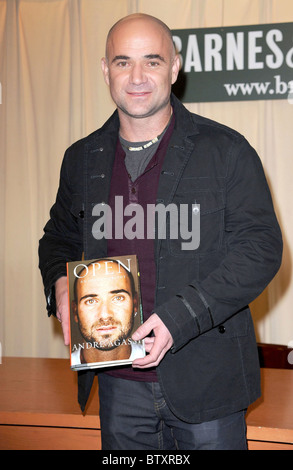 Open: An Autobiography by Andre Agassi Book Signing Stock