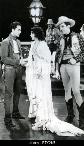 RIO RITA 1929 RKO film with Bebe Daniels - Stock Photo