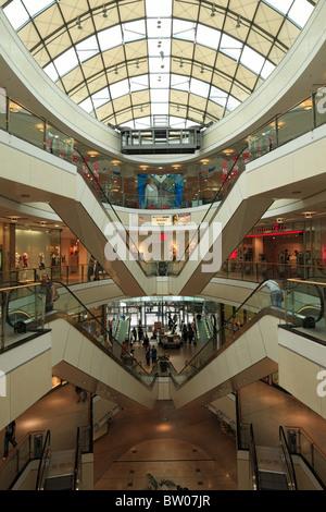 D-Wuppertal, Wupper, Bergisches Land, North Rhine-Westphalia, NRW, D-Wuppertal-Elberfeld, shopping center City Arcades, - Stock Photo