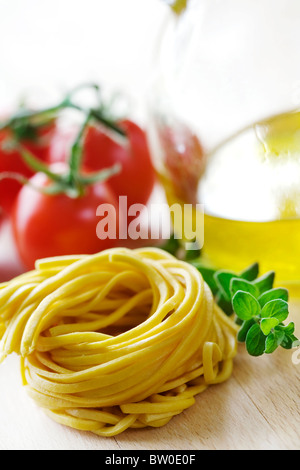 fettuccine - Stock Photo