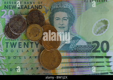 New Zealand money - Stock Photo