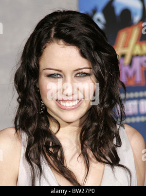 Hannah Montana & Miley Cyrus: Best of Both Worlds Concert 3D Premiere - Stock Photo
