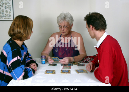 Tarrot card reading - Stock Photo