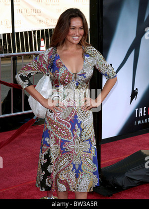 THE X-FILES: I WANT TO BELIEVE Premiere - Stock Photo