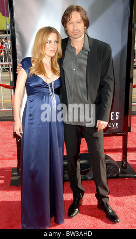 LOS ANGELES PREMIERE of - X-FILES: I WANT TO BELIEVE - Stock Photo