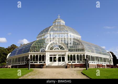 The Palm House, Sefton Park, Aigburth, Liverpool, Merseyside, England, United Kingdom - Stock Photo