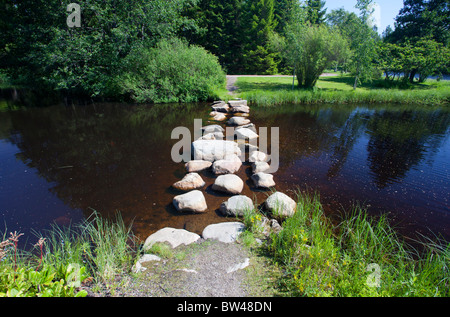 View Over Pond And Rock Garden At Hisaya Odori Park In City Center Stock Photo Royalty Free