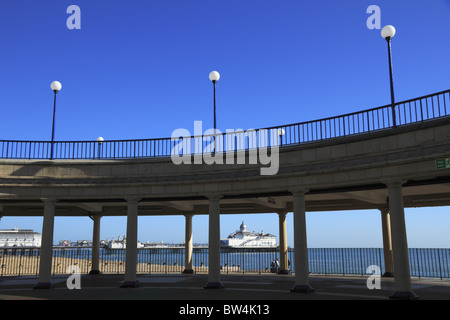 Eastbourne Bandstand, East Sussex, England. - Stock Photo