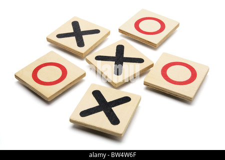 Tic-Tac-Toe Game - Stock Photo