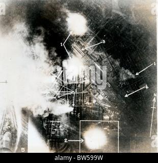 Mannheim Germany WW2 - Stock Photo