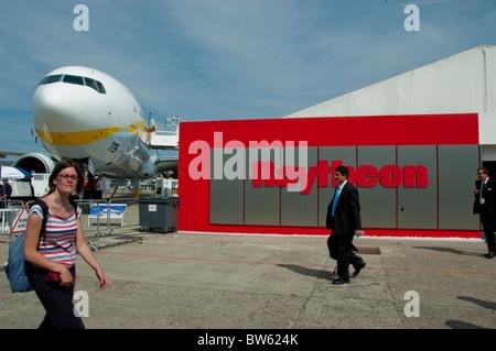 Paris, France, Trade Show, Businessmen Visiting at Paris Air Show , the Bourget Airport, - Stock Photo