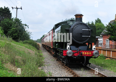 Mid Norfolk Railway - Stock Photo