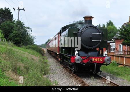 Mid Norfolk Railway - Stock Photo