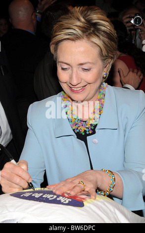 Clinton Speaks at Mother's Day Celebration - Stock Photo