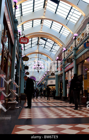 Great Western Arcade, Birmingham, UK - Stock Photo