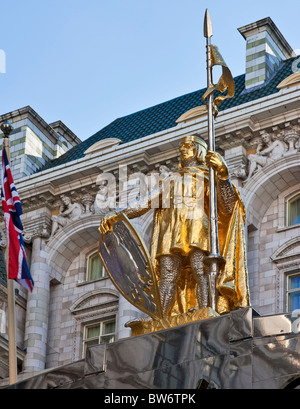 The refurbished Savoy Hotel in London - reopened in October 2010. - Stock Photo