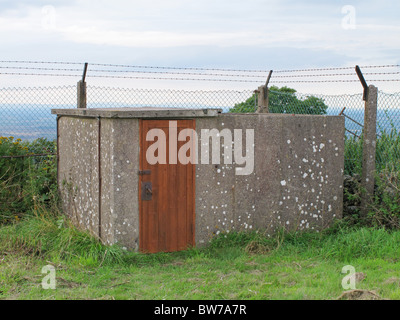 Orlit A Royal Observer Corps post, Broadway, Fish Hill, Worcestershire, England - Stock Photo
