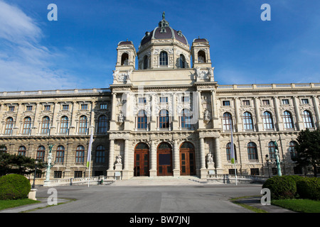 The Kunsthistorisches Museum (English: 'Museum of Art History', also often referred to as the 'Museum of Fine Arts') - Stock Photo