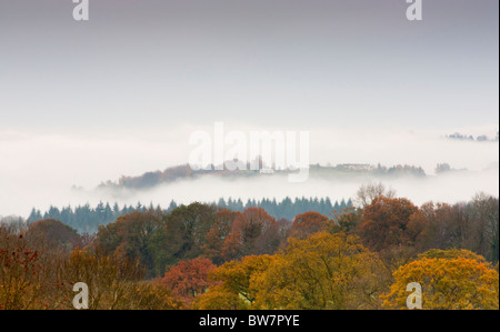 Mist in the Valley - Stock Photo