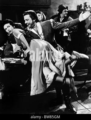 RITA MORENO, ORESTE KIRKOP, THE VAGABOND KING, 1956 - Stock Photo