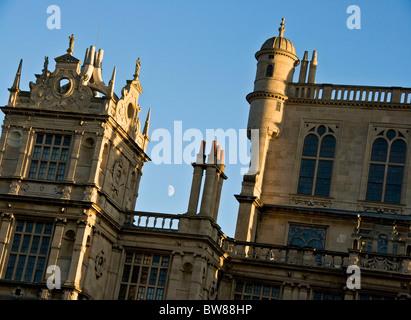 Grade 1 listed Elizabethan Wollaton Hall by Robert Smythson Nottingham Nottinghamshire east Midlands England Europe - Stock Photo